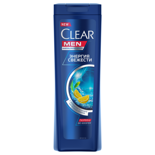 Clear шампунь против перхоти для мужчин Энергия свежести, 200 мл clear шампунь для мужчин 2 в 1