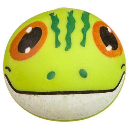 Игрушка-мялка BONDIBON Глазки Ящерица (ВВ3586) зеленый