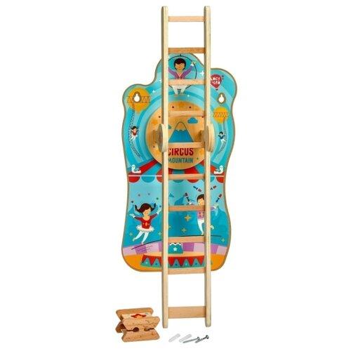 Развивающая игрушка Lucy & Leo Цирк на горе бежевый/голубой, Развитие мелкой моторики  - купить со скидкой