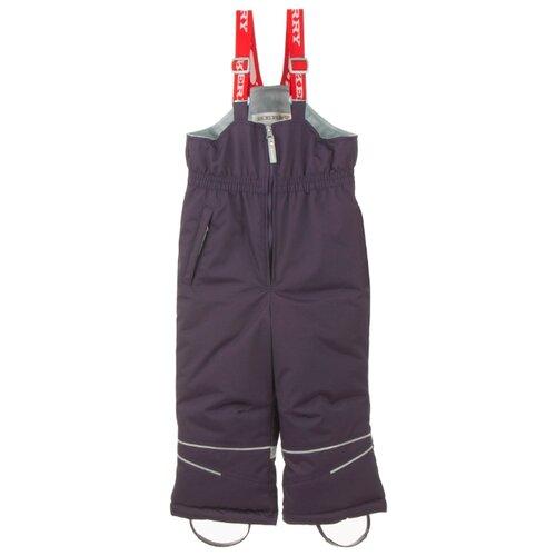 Купить Полукомбинезон KERRY WOODY K20454 размер 128, 619 фиолетовый, Полукомбинезоны и брюки