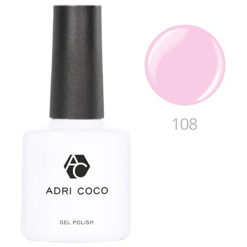 Гель-лак для ногтей ADRICOCO Gel Polish, 8 мл, оттенок 108 мягкий розовый