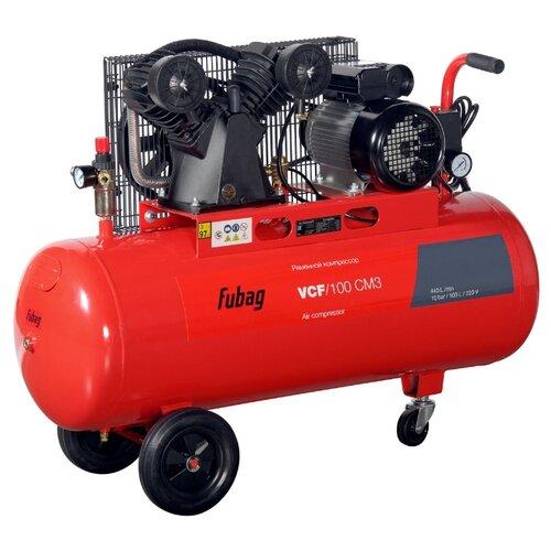 Компрессор масляный Fubag VCF/100 CM3, 100 л, 2.2 кВт компрессор fubag b 2800 b 100 cm3