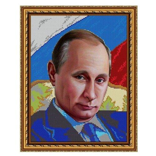 Купить Диамант Набор алмазной вышивки Путин В.В. (ДК-460) 30х38 см, Алмазная вышивка