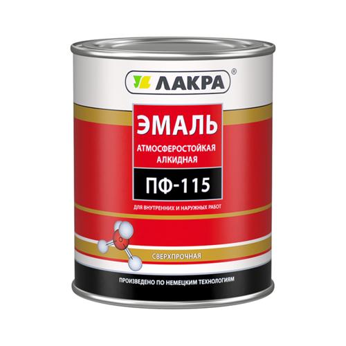 Эмаль алкидная (А) Лакра ПФ-115 синий