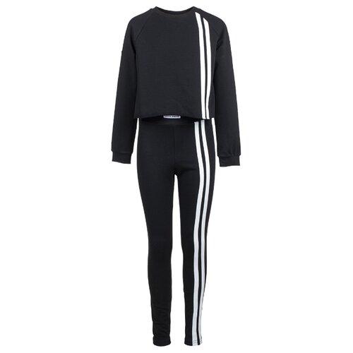 Купить Спортивный костюм Nota Bene размер 158, черный, Спортивные костюмы