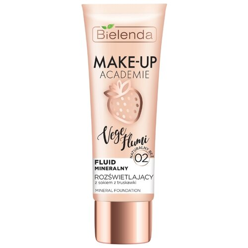Купить Bielenda Тональный крем Make-Up Academie Vege Flumi, 30 г, оттенок: натурально-бежевый тон 02