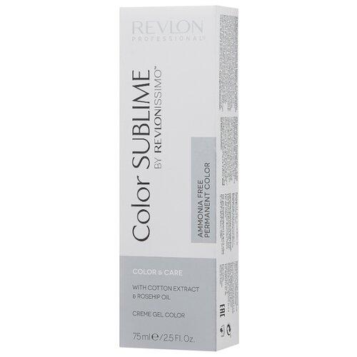Revlon Professional Revlonissimo Color Sublime стойкая краска для волос, 75 мл, 7.4 блондин медный краска для волос revlon professional revlon professional re044lmuks43