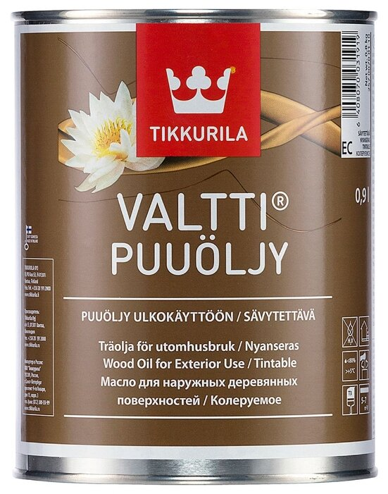 Масло-воск Tikkurila Valtti Puuöljy