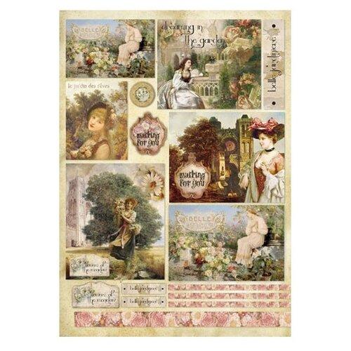 Купить Карта для декупажа Утро для тебя 50 х 70 см 1 лист, Stamperia, Карты, салфетки, бумага