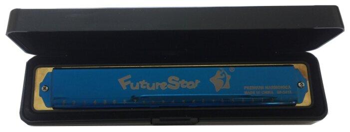 Губная гармошка Future Star QF-2418 BL C
