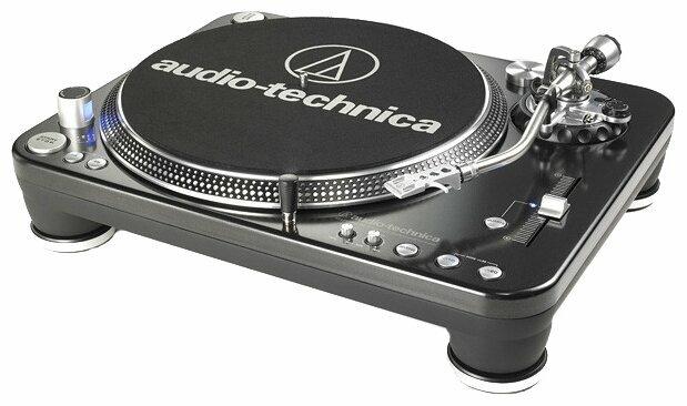 Виниловый проигрыватель Audio-Technica AT-LP1240 USB