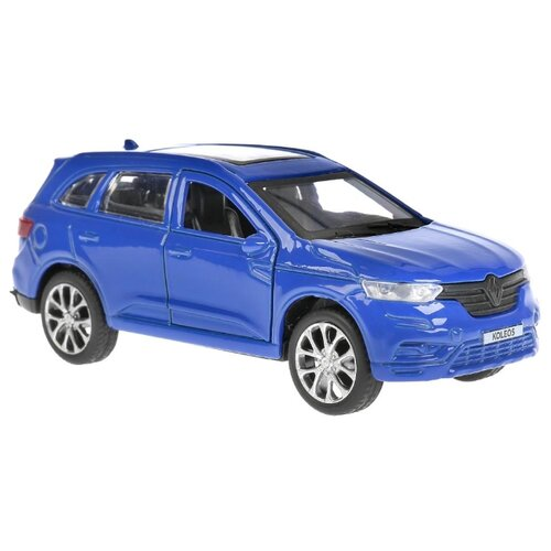 Внедорожник ТЕХНОПАРК Renault Koleos (KOLEOS-BU/GN/SL/BK) 12 см синий внедорожник технопарк renault koleos koleos bu gn sl bk 12 см черный