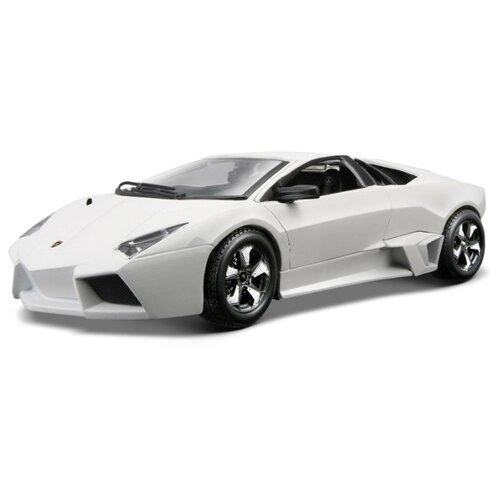Купить Легковой автомобиль Bburago Lamborghini Reventon (18-21041) 1:24 17 см белый, Машинки и техника