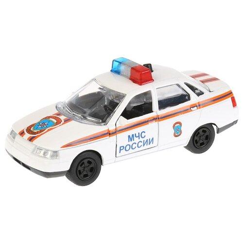 Купить Легковой автомобиль ТЕХНОПАРК Lada 2110 МЧС (CT10-110-6) 1:43 белый, Машинки и техника