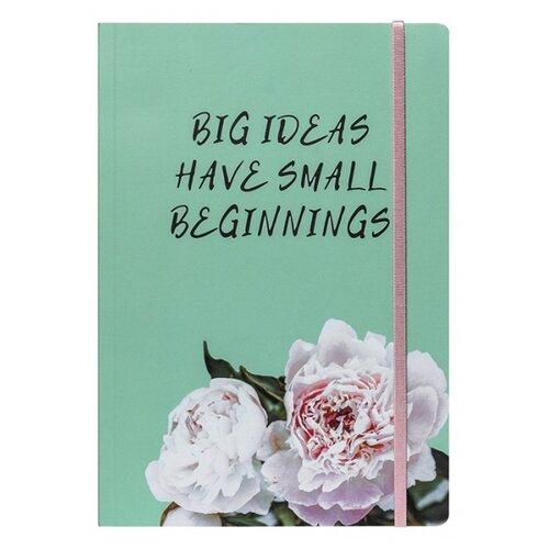Купить Ежедневник Sammy ICON Big Ideas недатированный, 104 листов, зеленый, Ежедневники, записные книжки