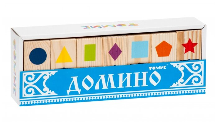 Купить Настольная игра Томик Домино Геометрические фигуры по низкой цене с доставкой из Яндекс.Маркета
