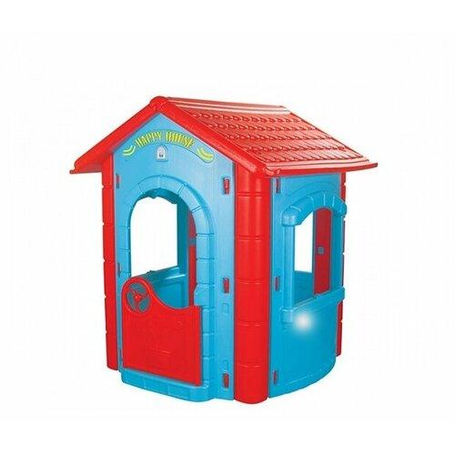 Домик pilsan Happy House 06-098 голубой/красный