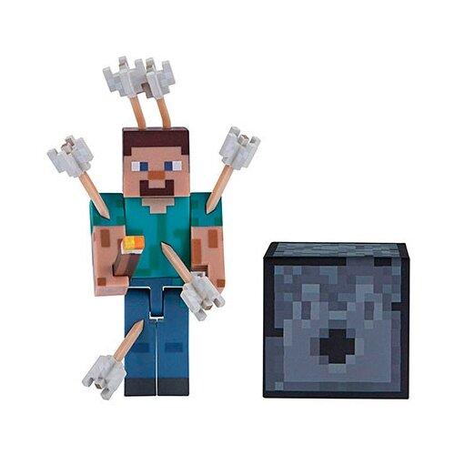 Купить Фигурка Jazwares Minecraft Стив со стрелами 19971, Игровые наборы и фигурки