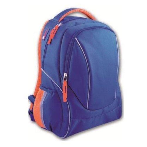 Купить Феникс+ Рюкзак (40776), синий/оранжевый, Рюкзаки, ранцы