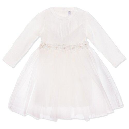 Платье playToday размер 80, белый
