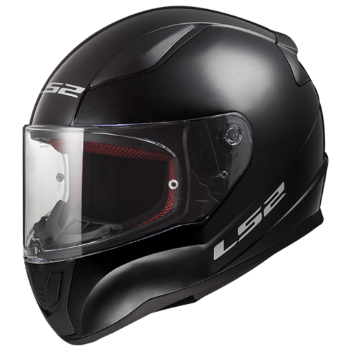 Шлем LS2 FF353 RAPID SINGLE MONO Gloss Black (XS, Gloss Black)