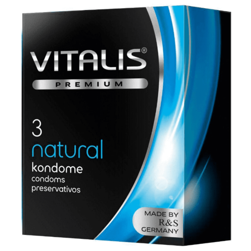 Презервативы VITALIS Natural (3 шт.).