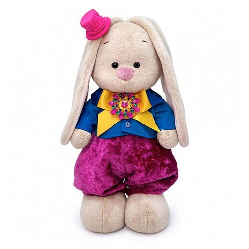 Купить Budi Basa Мягкая игрушка Зайка Ми Бургундский рубин, 25 см, BUDI BASA collection, Мягкие игрушки