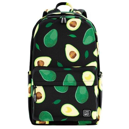 Купить Like Me рюкзак Teens Авокадо, черный, Рюкзаки, ранцы