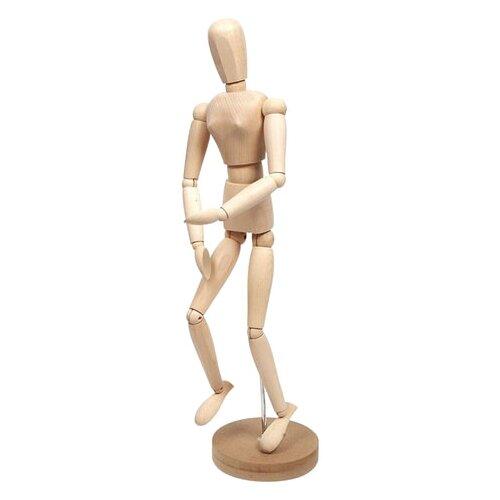 Манекен художественный Невская палитра женский дерево 50 см DK16208 бежевый
