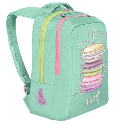 Grizzly рюкзак (RG-066-1), мятный рюкзак grizzly grizzly mp002xm23sic