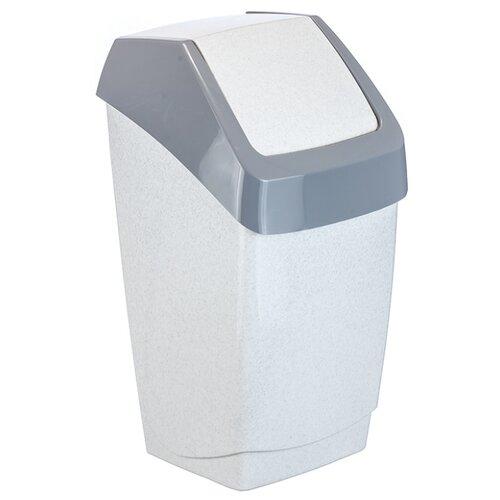 Контейнер IDEA (М-Пластика) Хапс М 2471, 15 л мраморный мусорный контейнер 15 л с подвесной крышкой idea хапс м 2471 мрамор