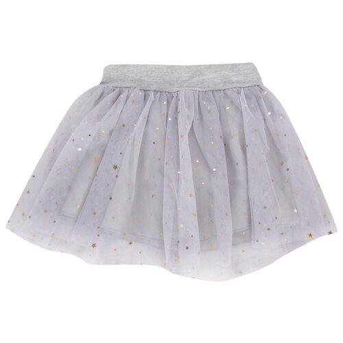 Купить Юбка Fun time размер 86, серый, Платья и юбки