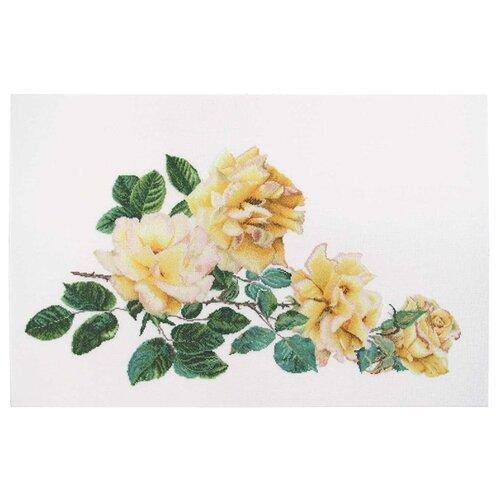 Купить Набор для вышивания Роза Мира, канва лён 36 ct 44 х 65 см 429, Thea Gouverneur, Наборы для вышивания