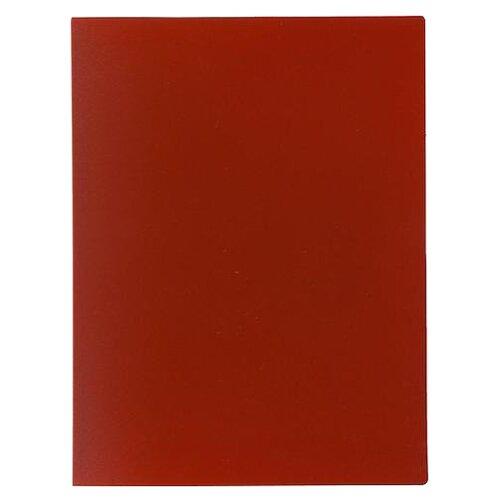 Купить Calligrata Папка на 80 файлов А4, пластик 700 мкм красный, Файлы и папки