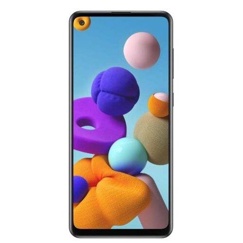 Смартфон Samsung Galaxy A21s 3/32GB черный (SM-A217FZKNSER) смартфон samsung galaxy j4 2018 sm j415 3 32gb gold