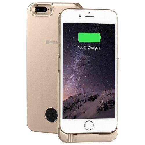 Купить Чехол-аккумулятор INTERSTEP Metal battery case для iPhone 6 Plus/7 Plus gold