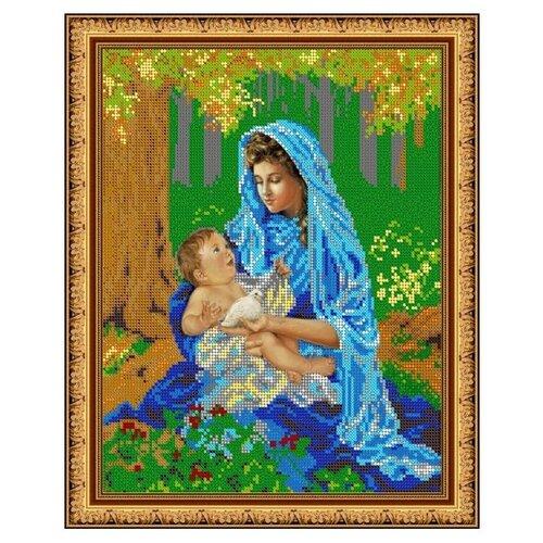 Купить Диамант Набор алмазной вышивки Мамина радость (ДК-455) 30х38 см, Алмазная вышивка