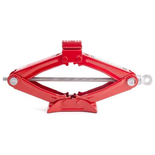 Домкрат винтовой механический AUTOPROFI DV-10R (1 т) красный страховочные опоры autoprofi js 02