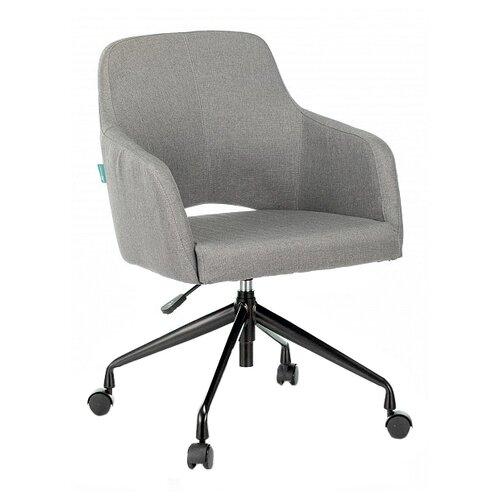 Компьютерное кресло Бюрократ CH-380 офисное, обивка: текстиль, цвет: серый цена 2017