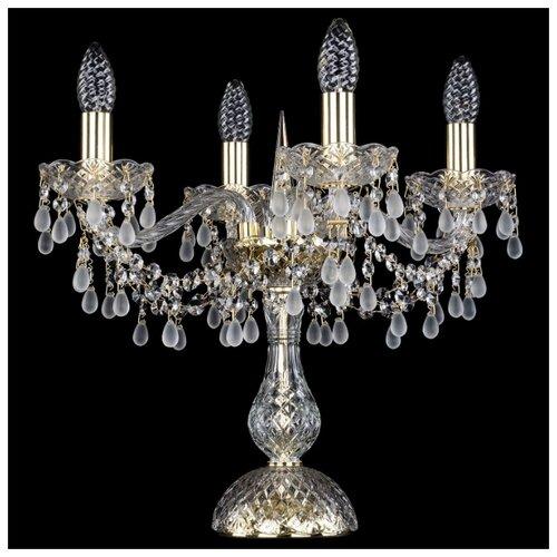 Настольная лампа Bohemia Art Classic 12.24.4.141-37.Gd.V0300, 160 Вт настольная лампа bohemia art classic 11 23 12 23 3 141 37 br dr