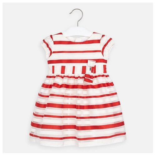 Купить Платье Mayoral размер 110, полоска/красный, Платья и сарафаны
