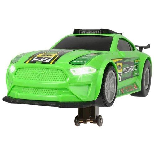 Купить Легковой автомобиль Dickie Toys Ford Mustang (3764009) 25.5 см зеленый, Машинки и техника