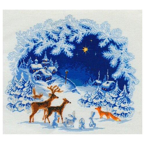 Купить Риолис Набор для вышивания Рождество 45 х 45 см (793), Наборы для вышивания