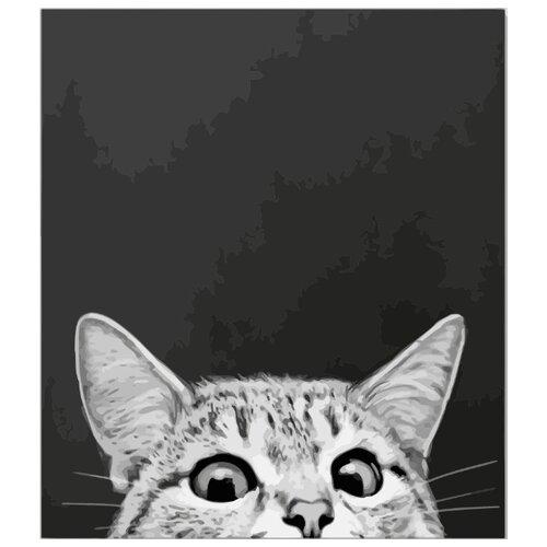 Купить ВанГогВоМне Картина по номерам Я все вижу , 40х50 см (ZX 21909), Картины по номерам и контурам
