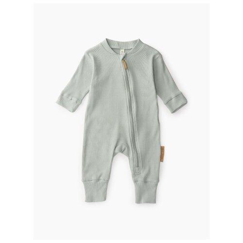 Комбинезон Happy Baby размер 56, зеленый брюки happy baby baby crawlers set 90034 размер 56 зеленый белый