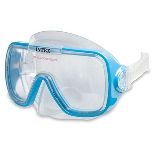 Маска для плавания Intex Wave Rider 55976 голубойМаски и трубки<br>