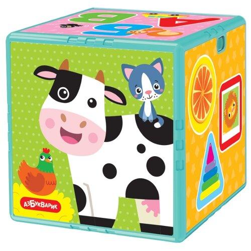 Купить Развивающая игрушка Азбукварик Говорящий кубик. Первые знания разноцветный, Развивающие игрушки