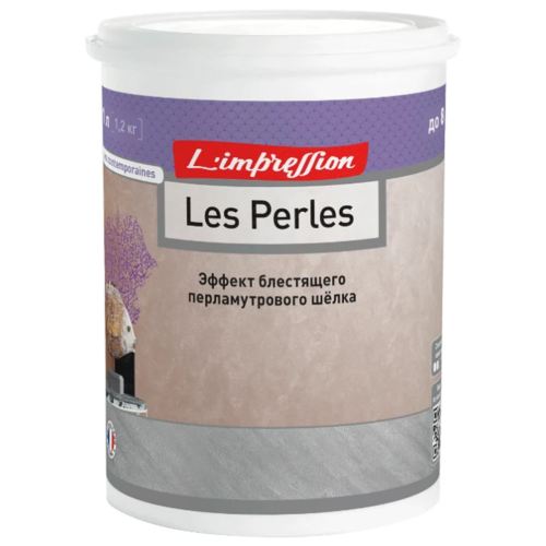 Декоративное покрытие L'impression Les Perles Треви 5100BR47 039 1 л 1.2 кг