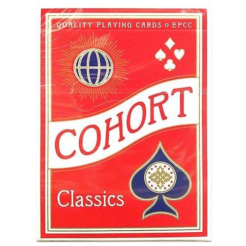 Карты для покера Ellusionist Cohorts Red Marked