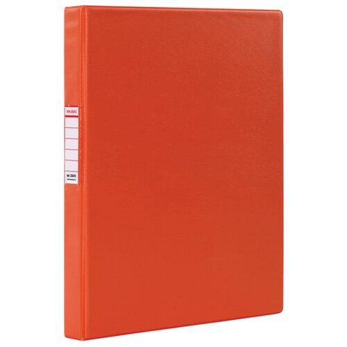 Купить BRAUBERG Папка на 2-х кольцах A4, картон/ПВХ, 35 мм красный, Файлы и папки